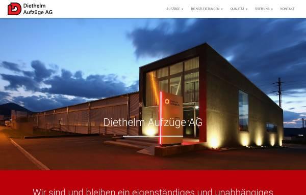 Vorschau von www.diethelm-aufzuege.ch, Diethelm Aufzüge AG
