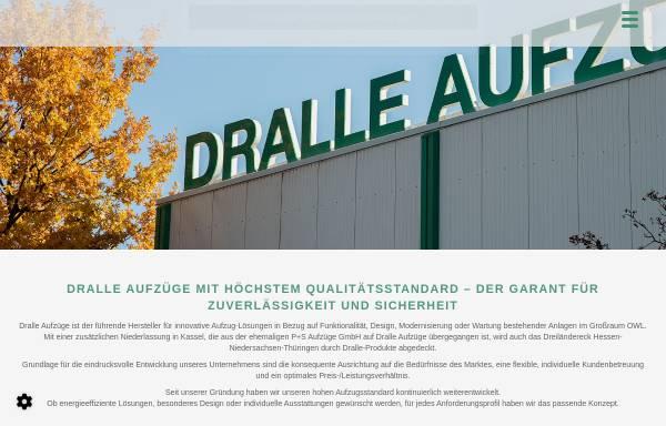Vorschau von www.dralle-aufzuege.de, Dralle Aufzüge