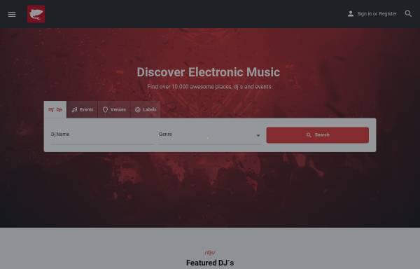 Vorschau von www.decksharks.com, DJ-Community Decksharks