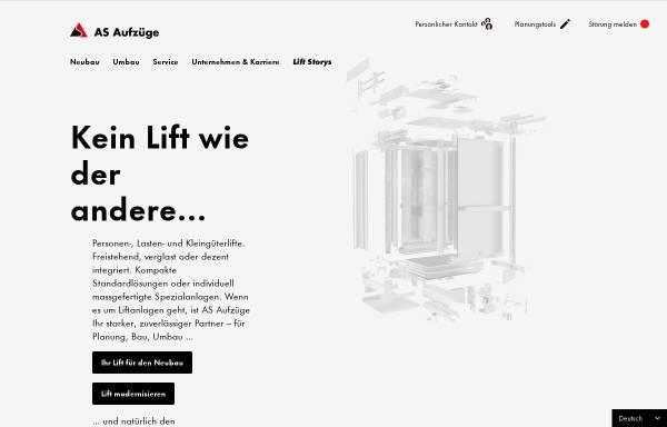 Vorschau von www.gtasolutions.ch, Lift-Service GTF Solutions AG