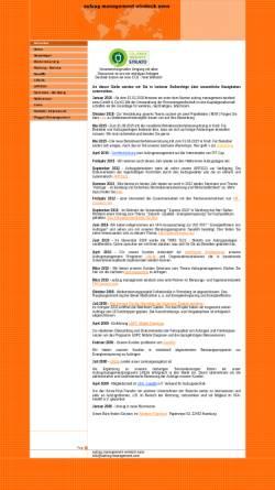 Vorschau der mobilen Webseite www.aufzug-management.com, Stefan Windeck - aufzug management windeck amw