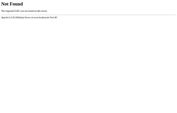 Vorschau von www.lesekost.de, Hitlisten