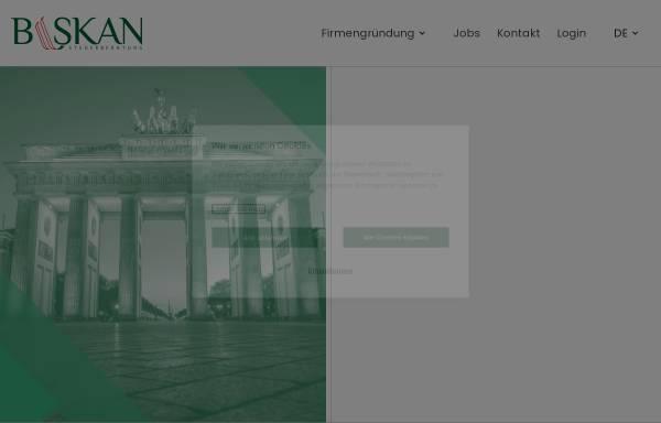 Vorschau von www.baskan.de, Baskan Unternehmensberatung