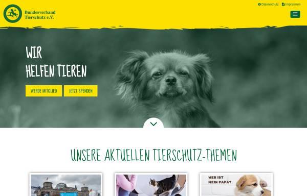 Vorschau von www.bv-tierschutz.de, Bundesverband Tierschutz e.V.