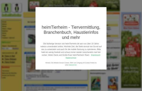 Vorschau von www.heimtierheim.de, HeimTierheim