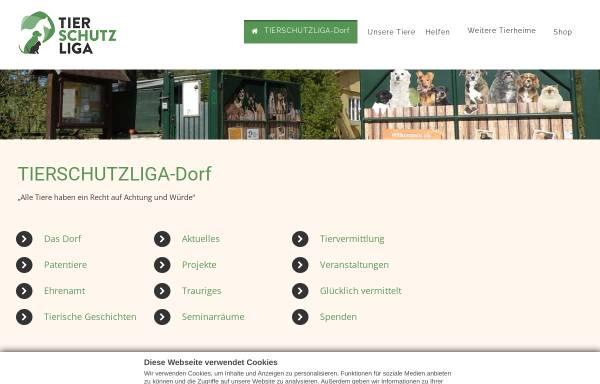 Vorschau von tierschutzliga.de, Tierschutzliga in Deutschland e.V.