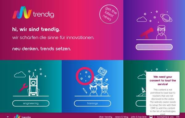 Vorschau von trendig.com, Díaz & Hilterscheid Unternehmensberatung GmbH