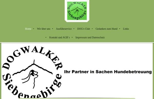 Vorschau von dogwalker-siebengebirge.de, Dogwalker-Siebengebirge