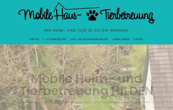 Vorschau von www.heimundtier.de, Nadines Heim- und Tierbetreuung