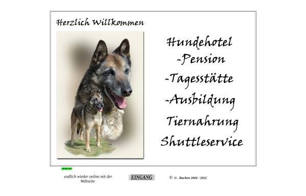 Vorschau von tierpension.belgischer-schaeferhund.de, Tierpension Buchen