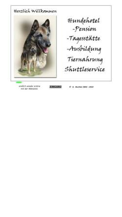 Vorschau der mobilen Webseite tierpension.belgischer-schaeferhund.de, Tierpension Buchen