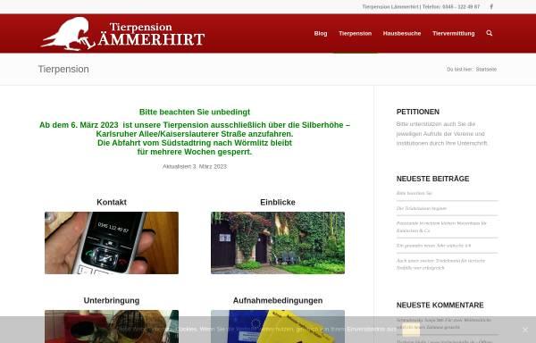 Vorschau von www.tierpension-halle.de, Tierpension Lämmerhirt