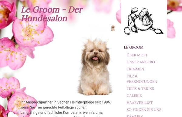 Vorschau von www.hundesalon-straubing.de, Hundesalon Straubing