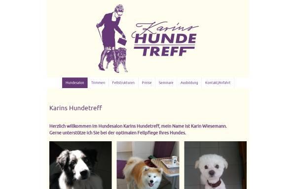 Vorschau von www.karins-hundetreff.de, Karins Hundetreff