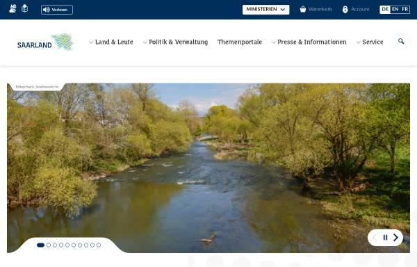 Vorschau von www.saarland.de, Die Landesregierung