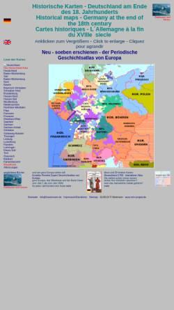 Vorschau der mobilen Webseite www.hoeckmann.de, Historische Karten - Deutschland am Ende des 18. Jahrhunderts