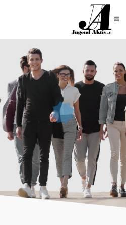 Vorschau der mobilen Webseite www.jugendaktiv.org, Jugend Aktiv e.V.