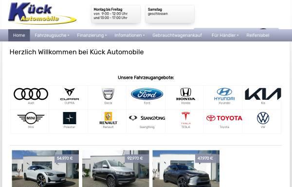 Vorschau von www.euro-auto-kueck.de, Kück EU-Automobile GmbH