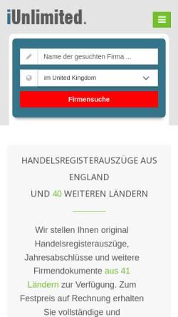 Vorschau der mobilen Webseite www.auslandsfirmengruenden.de, Uwe Günther