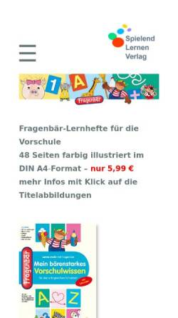 Vorschau der mobilen Webseite www.fridolin-fuchs.de, Fridolin-Fuchs