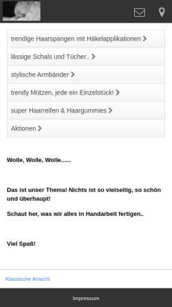 Vorschau der mobilen Webseite shirleychristoffer.de, ShirleyChristoffer Design für Kinder