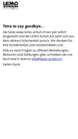 135047dd9c4a59 ... Lemo Vorschau der mobilen Webseite www.lemo-schuh.ch