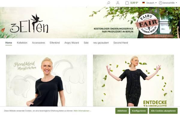 Vorschau von www.3elfen.de, 3Elfen, Maxie Klugow