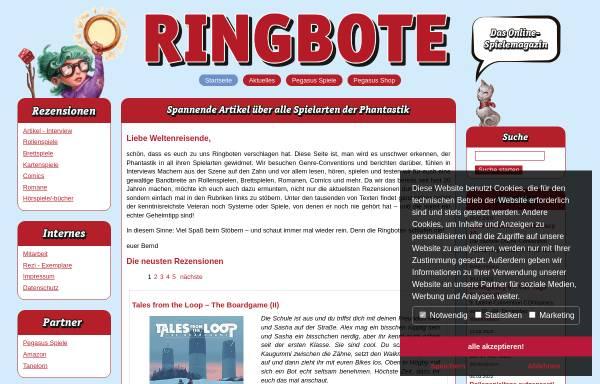 Vorschau von www.ringbote.de, Ringbote