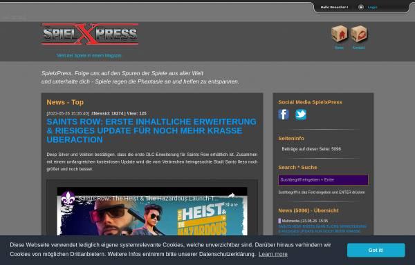 Vorschau von www.spielxpress.com, SpielxPress