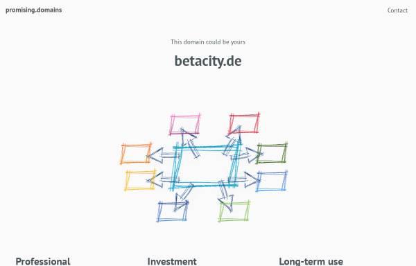 Vorschau von www.betacity.de, Betacity - Mesomedium für Kulturtransfer