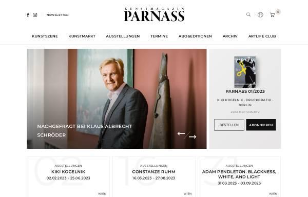 Vorschau von www.parnass.at, Parnass