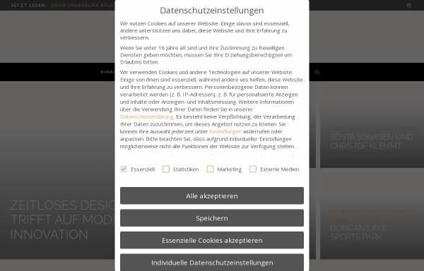 Vorschau von tango-online.de, Tango
