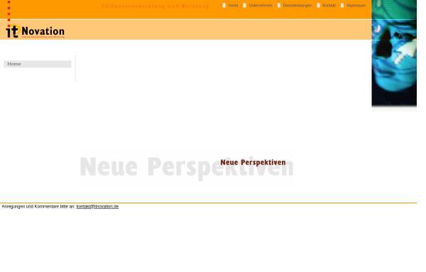 Vorschau von www.itnovation.biz, ITNovation GmbH