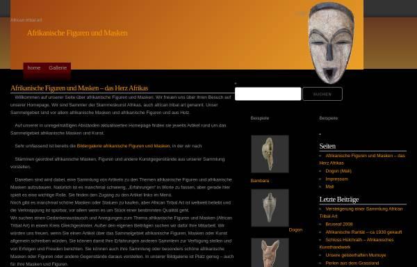Vorschau von www.afrika-figuren.de, afrika-figuren.de