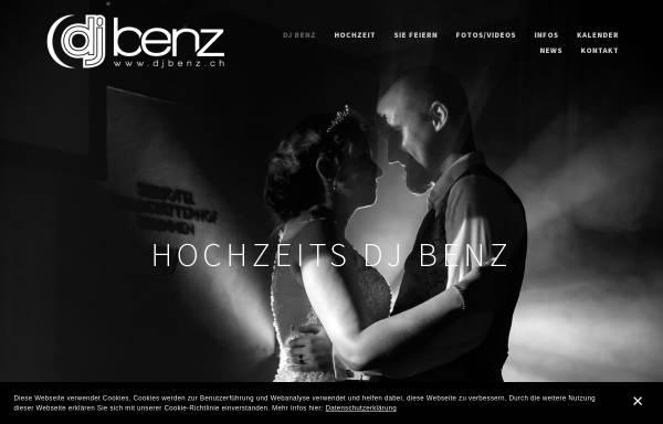 Vorschau von www.djbenz.ch, DJ Benz