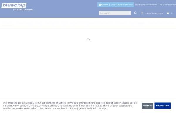 Vorschau von www.bluechip.de, Bluechip Computer AG