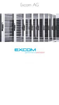 Vorschau der mobilen Webseite www.excom.ch, EXCOM