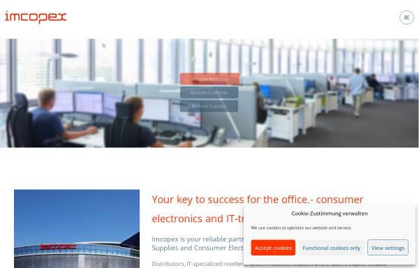 Vorschau von www.imcopex.com, imcopex Office Supplies GmbH
