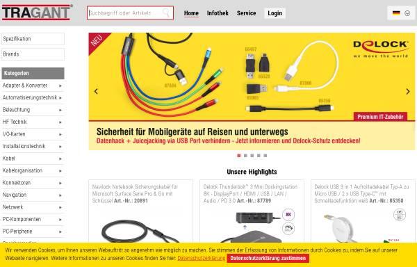 Vorschau von www.tragant.de, Tragant Computer GmbH