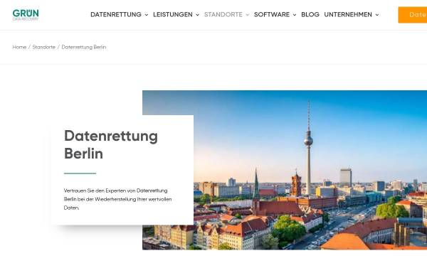 Vorschau von www.data-recovery.de, Datenrettung Berlin | data-recovery.de