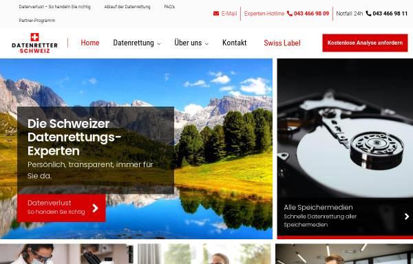 Vorschau von datenretter-schweiz.ch, Datenretter-Schweiz GmbH