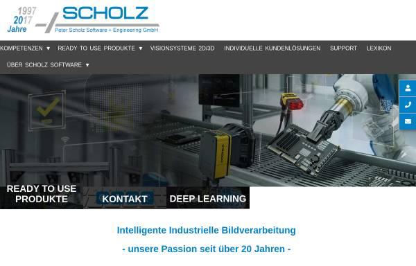Vorschau von www.scholzsue.de, Peter Scholz Software + Engineering GmbH