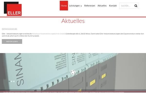Vorschau von www.eller-industriesteuerungen.de, Eller Industriesteuerungen, Inh. Thomas Eller
