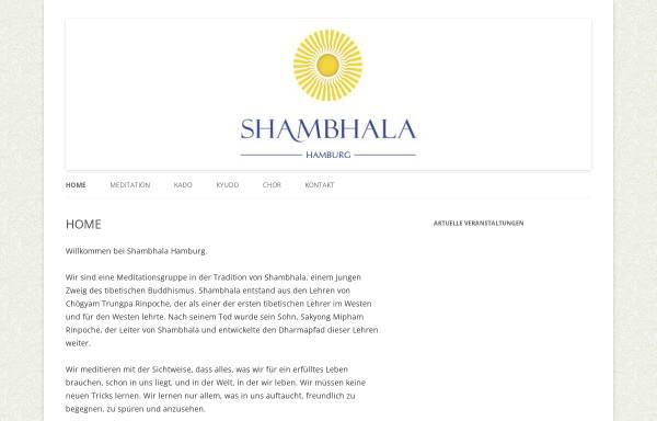 Vorschau von hamburg.shambhala.info, Shambhala Meditationszentrum