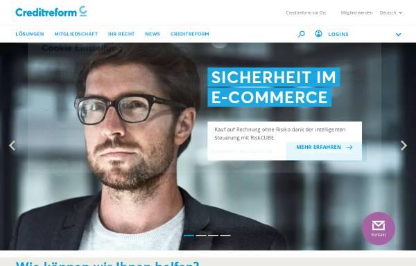Vorschau von www.creditreform.ch, Schweizer Verband Creditreform