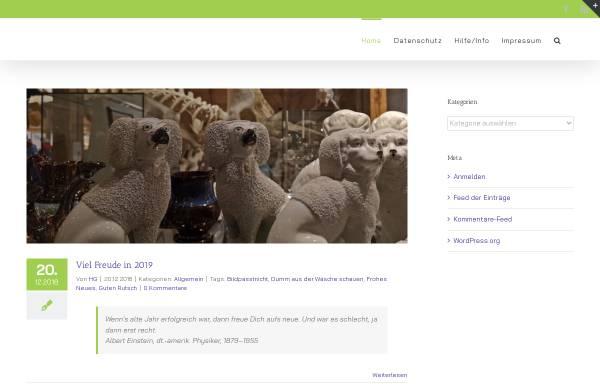 Vorschau von www.blogin.de, Ankes und HGs Blogin