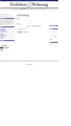 Vorschau der mobilen Webseite kutter.antville.org, Dichtheit & Wahrung