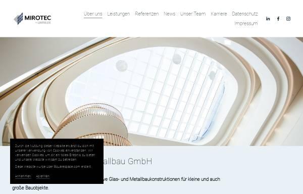Vorschau von www.mirotec.de, Mirotec Glas- & Metallbau GmbH
