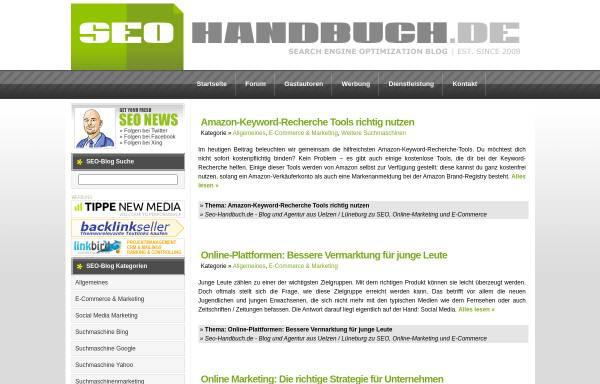Vorschau von www.seo-handbuch.de, Seo-Handbuch.de