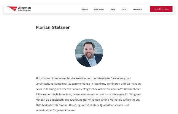 Vorschau von www.florian-stelzner.de, Stelzner, Florian